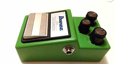 Ibanez TS9 made in Japan Distortion Guitar Effect Pedal Good