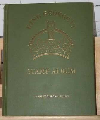 King Gv 1  Mint & Used (Appr-1145) Stamps  Collection-In Gibbons Album   -St-036