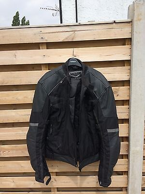 Weise mens motorcycle jacket Onyx size XL