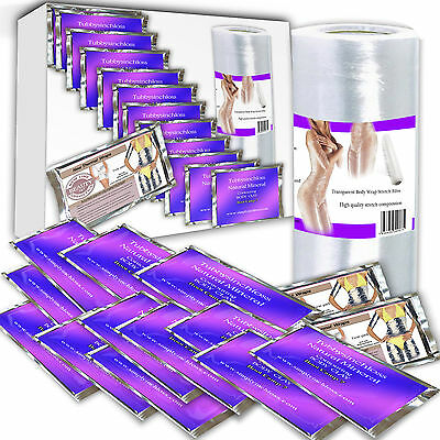 new kit special  16 inch loss body wraps HEAT RETAINING SARAN WRAP WEIGHT SILM