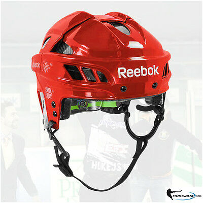 New Reebok 11K Hockey Helmet Color Red Size -Senior Uk Stock Free Shipping