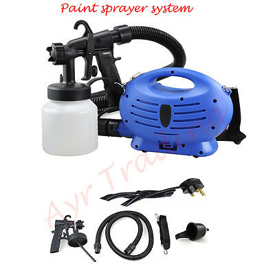 Electric Paint Zoom Sprayer Gun Sytem Painting Fence Bench Outdoor Paint machine