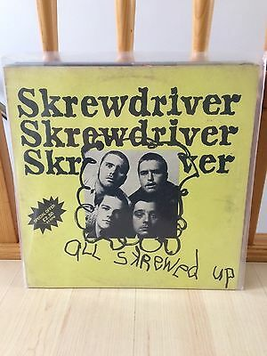 All Skrewed Up Lp 1977 / Punk / Skinhead / 45Rpm / Chiswick Records