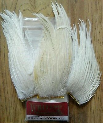 Whiting Natural White Bugger Pack Fly Tying Materials