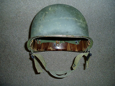Early Vietnam War Era Steel U.S. Army Helmet and Liner