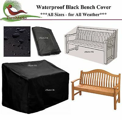 Heavy Duty Waterproof Garden Outdoor  2, 3, 4 Seater Bench Seat Cover All Sizes