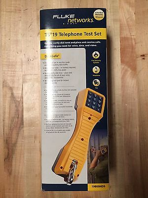 Fluke Networks TS 19 Telephone Test Set 19800HD9 NEW OPEN BOX FREE SHIPPING US48