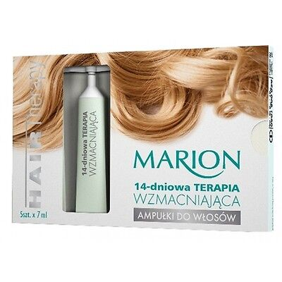 Marion Ampoules for hair: 14-day Strengthening therapy Terapia WZMACNIAJĄCA