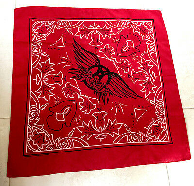 Aerosmith Bandana - new rare from 2010 Cocked, Locked, Ready to Rock Tour