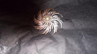 Sarah Coventry statement Starburst Brooch
