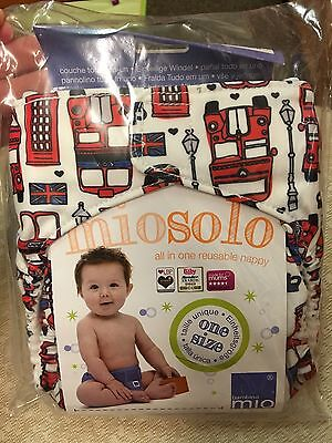 Bambino Mio miosolo all in one nappy new in packet London calling