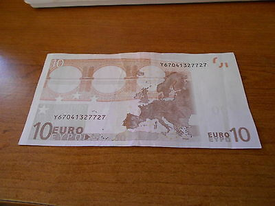 Greece      Very     Rare   10   Euro  Billet