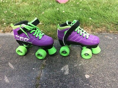 SFR roller skates girls size 12 - 1 good clean condition only used 3 times