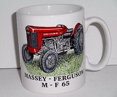 neu ovp massey ferguson 65 mf vintage traktor geschenk tasse steinzeug becher eur 12 00. Black Bedroom Furniture Sets. Home Design Ideas