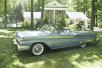 1959 Ford Galaxie Convertible  1959 Ford Fairlane Galaxy 500 Skyliner Convertible Perfectly Restored