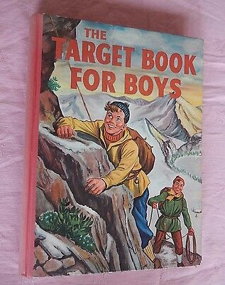 The Target Book For Boys 1959 Published by Spring Books