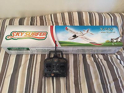 bnib skysurfer brushless model ready to fly version all you need to fly in box 4