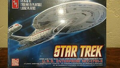Polar Lights STAR TREK 1/2500 Cadet Series U.S.S Enterprise NCC-1701-E NEW SEAL