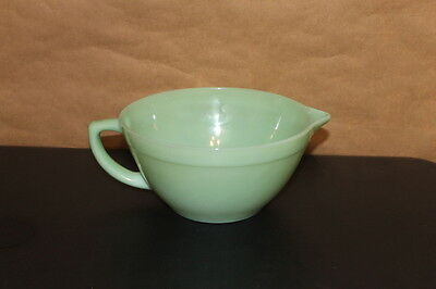 Fire King Oven Ware Jadeite Kitchen Mixing Bowl