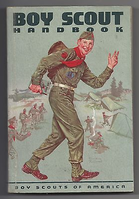 """Boy Scouts of America -1959 """"THE BOY SCOUT HANDBOOK"""" 6th EDITION"""