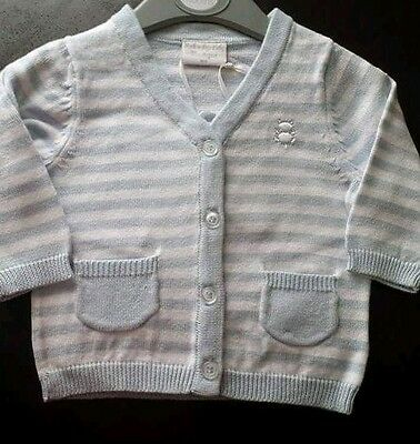 Brand New Boys Cardigan Age 6-9 Months