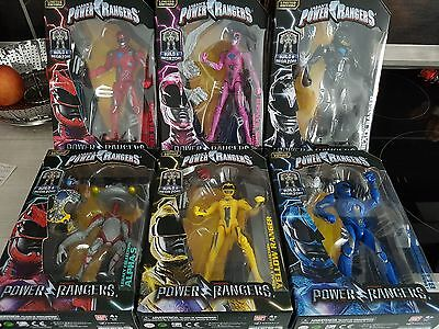 Mighty Morphin Power Rangers 2017 Movie Figures 6.5 inch, MMPR