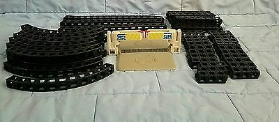 Lot Rokenbok Monorail Crossing Replacement Black Beams Tracks Curves Straight
