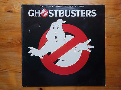 GHOSTBUSTERS original soundtrack album vinyl record