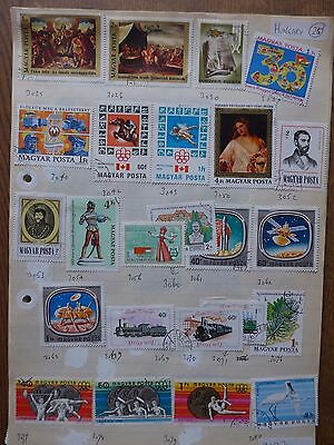 Hungary - Various Stamps