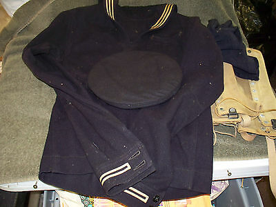 WW1 Navy Bluejacket, Pants and other items.