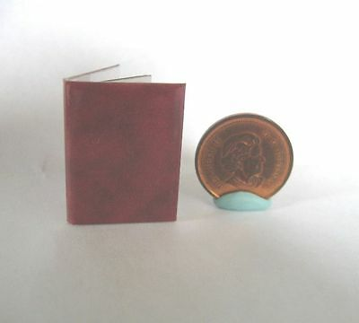 Dollhouse Miniature Book Of Stamps 1:12 Scale