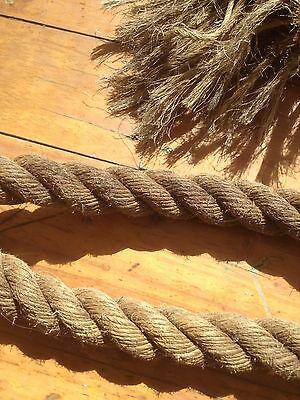 Vintage Hemp Rigging Ships Twisted Ships Rope
