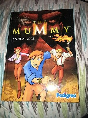 The Mummy Annual 2003 HARDBACK VGC PRICE UNCLIPPED