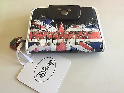 Mickey Mouse Purse * New * Minnie Mouse Disney Donald Duck Pluto Union Jack