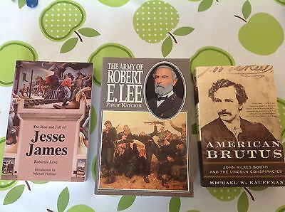 3 Books On Amereican History