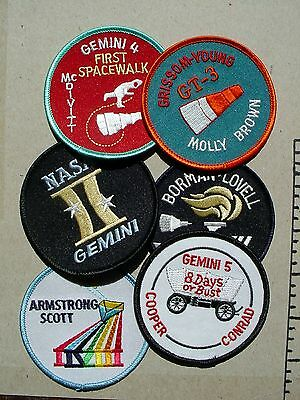 Lot Of 6 Gemini Patches - Must See