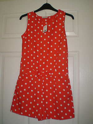 Next Girls Playsuit Size 12 Yrs Bnwt