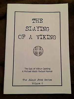 Slaying of a Viking by M Walsh Quisling Fascist Norway Nazi Collaborator WW2 bn