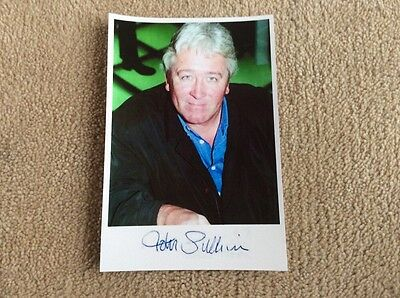 John Sullivan As The Writer Of Only Fools And Horses Pre Print Signed Card