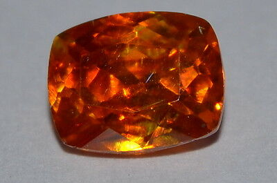 Surreal 1.05ct Natural Untreated Cushion Cut Spainish Sphalerite Gemstone
