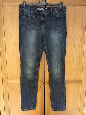 Women's Next Skinny Slouch Jeans, Blue, Size 10