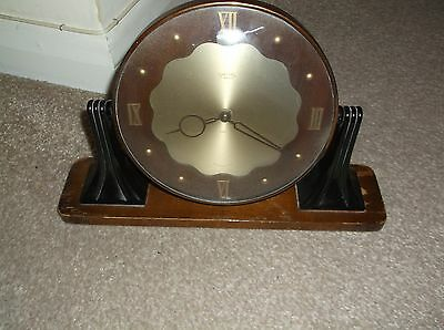 Smiths Art Deco 8 Day Manual Wind, Swing   Mantle Clock, Spares & Repairs