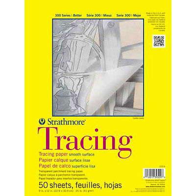 """Strathmore - Tracing Paper Pad - 300 Series - 19"""" x 24"""" SM370-19"""