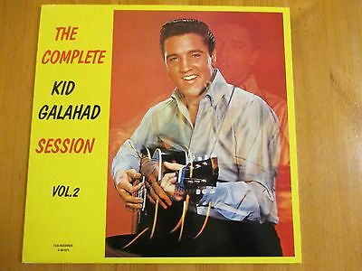 "Elvis Presley - The Complete Kid Galahad Sessions Vol. 2 - 12"" Vinyl LP RARE"