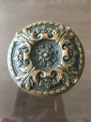 H-43000 Victorian Entry Size Doorknob Door Knob Antique Hardware