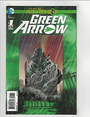 Green Arrow: Futures End #1 NM- 9.2 3D Cover DC Comics New 52