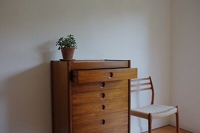 Rosewood Mid century chest Of drawers