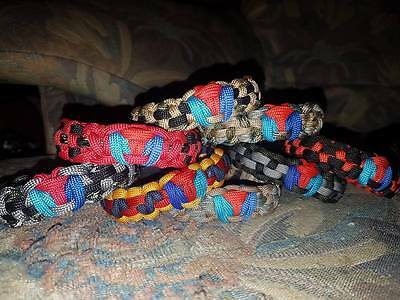 Help For Heros New For 2017 Shield Edition 550 Paracord Wristbands Edc E.d.c.