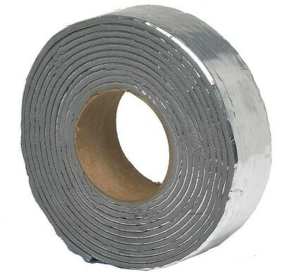 E/O 2 in. x 15 ft. Foam and Foil Pipe Wrap Insulation Tape insulate Hot Cold New