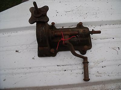 Antique Cast Iron And Steel Lathe Attachment.  Very Unusual.